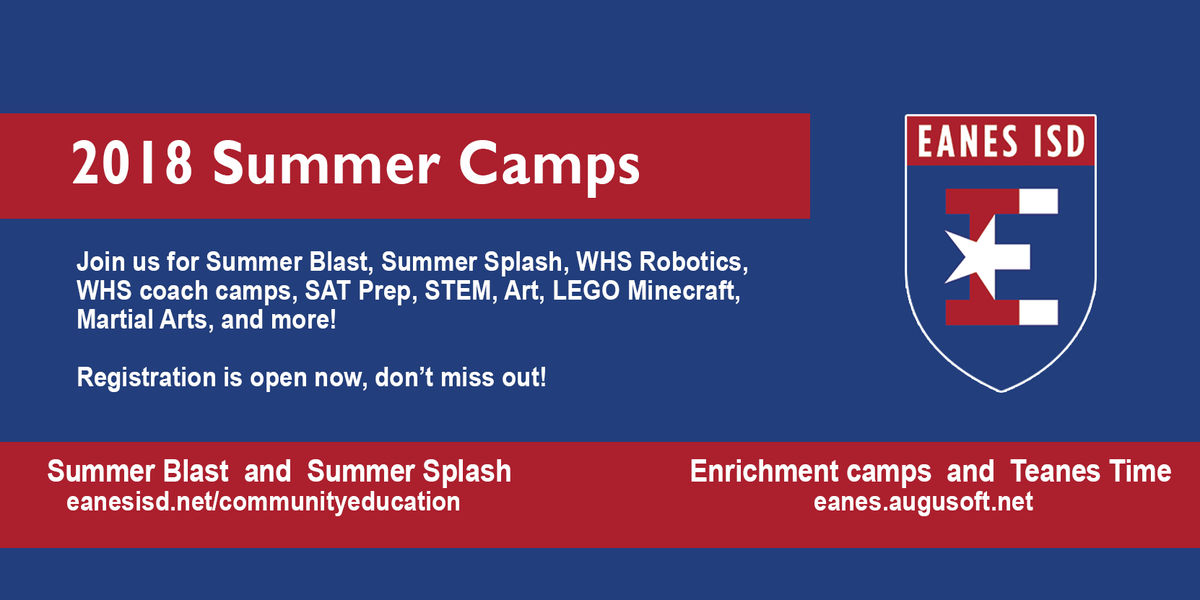 EISD Summer Camps